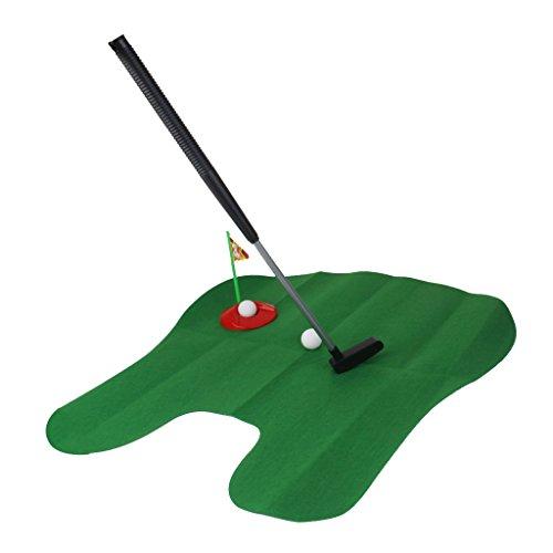 MagiDeal Pot Putter Temps De Toilettes Jeu De Mini Golf Gag Cadeau Jouet Enfant