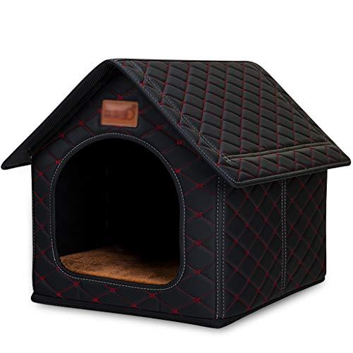 YBYB Cama para Perro Gran Cama de Mascotas para Perros Casa Casa Cave Cave Cómoda Estera de la Perrera para el Cachorro de Mascotas Invierno Verano Plegable Cat Pet Supply Supply Cama para Mascotas