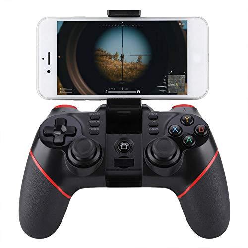 Qqmora Controlador de Juegos inalámbrico Bluetooth Inalámbrico Fácil de Usar Adecuado para teléfonos Inteligentes/tabletas/Smart TV