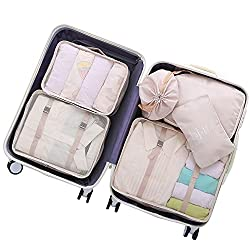 travel luggage packing set