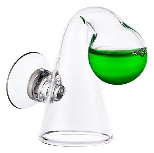 Q-Grow Moniteur Indicateur de contrôle avec Test d'endurance au CO2 en Goutte pour Aquarium d'eau Douce - Bubble (L)