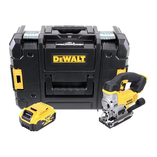 Dewalt DCS 33118V XR Ioni di Litio per seghetto alternativo in Dewalt TSTAK Box DWST1–70703con inserto + Dewalt DCB 1845AH batteria