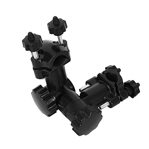 MOPOIN Soporte para paraguas, soporte para silla de pesca, universal, soporte para cañas de pescar, giratorio 360°, accesorio de pesca, color negro