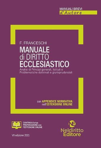 Manuale di diritto ecclesiastico. Nuova ediz.