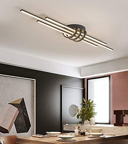 Plafonnier LED Moderne Eclairage de Plafond Dimmable Couloir Lampe de Plafond Lustre de Restaurant Longue Bande Design Intérieur Plafonnier Éclairage D'entrée Lampe De Vestiaire Lumière De Couloir