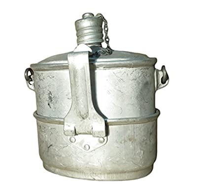 PetriStor Made in USSR Original Soviet Russian Army Airborne Forces VDV ??? Soldier Mess & Griddle 2 in ONE Kit Canteen New 1984 Metal Flask