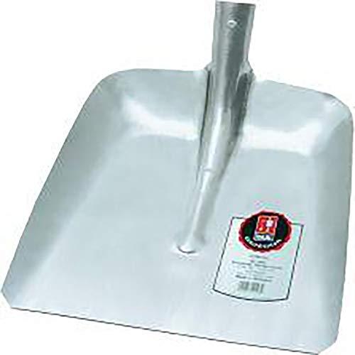 Ideal Bêche bord Pelle Silver hallenser modèle, 380 x 380 mm 01090900