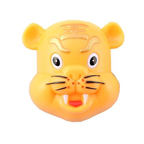 Lot de 2 mur Creative zodiaque chinois porte brosse à dents montée, Tiger