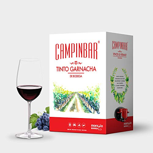 Bag in box Vino Tinto Garnacha de Bodega de Campinbar  (Pack 2 cajas de 5 Litros)