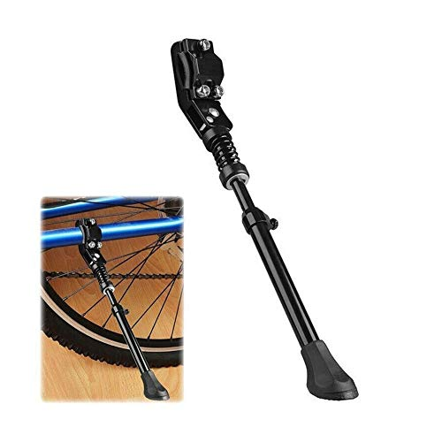 MINGDIAN FH Bicycle Adjustable Alloy Stand Side Kick Road Bike Side Kickstand Bicycle Pedal Bicycle Parts Bicycle Accessories MDZJ (Color : Black)