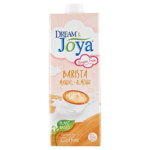 JOYA Bio Mandel Drink Barista 12er Pack (12 x 1l) I veganer Milch Ersatz für Latte Art I Mandel Getränk ohne Zuckerzusatz laktosefrei I Oat Drink I Plantbased I Milchalternative pflanzlich