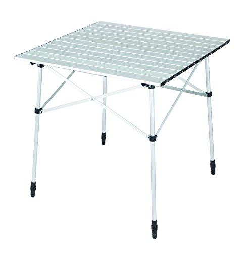 High Peak Camingtisch Sevilla Tisch, Silber, L