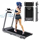 LIVSPO Folding Treadmill for Home 2.5HP Electric Treadmill Exercise Running Machine Portable Compact Treadmill Foldable for Walking Home Gym Fitness Workout Jogging, Free Installation
