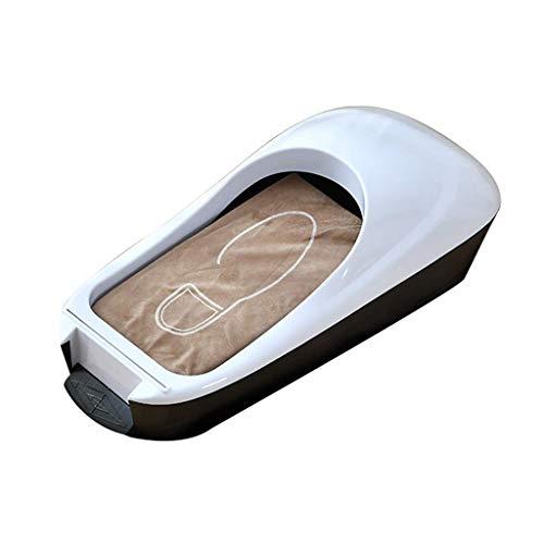 HYLK Dispensador automático de fundaspara Zapatos conpelículapara Zapatos Fácil Uso sin Electricidad Máquina dispensadora deprotectores de alfombras, Dorado, D