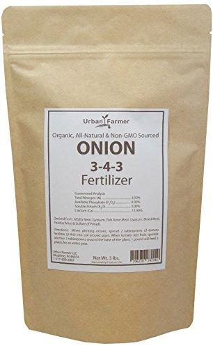 Organic Onion Fertilizer