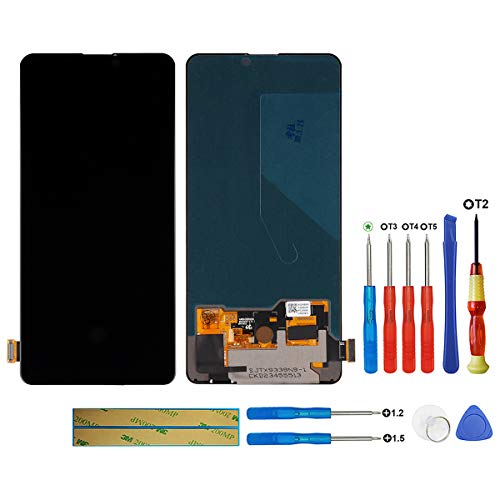 "swark AMOLED Display compatibile con Xiaomi Mi 9T/ Mi 9T Pro/Redmi K20/ K20 Pro (nero senza telaio) Touch Screen Digitizer 5.15"" + Tools"