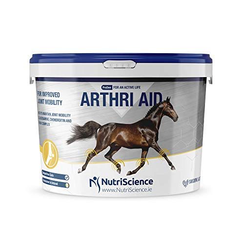 PlaqueOff NutriScience ArthriAid Joint Supplement Powder 12 kg For Horses Joints and Mobility
