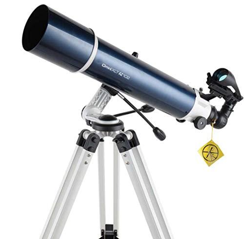 ZTYD Telescopio astronómico, Espacio Profundo Mirador de Estrellas Telescopio Refractor Buscador Espejo Theodolite HD World Dual Purpose