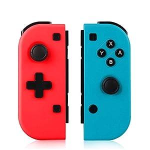 TUTUO Mando Switch para Nintendo Switch Joy con, Wireless Controller Gamepad Bluetooth Joystick Controlador Bluetooth Mando Controllers compatibles con Switch Pro