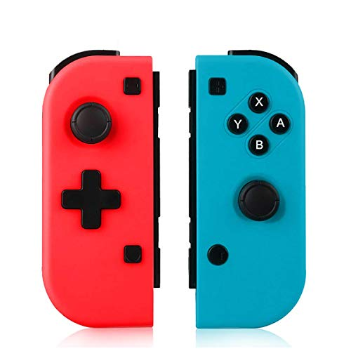 TUTUO Switch Controller per Nintendo Switch, Bluetooth Wireless Joystick Gamepad Controller Sostituzione per Joy con Compatibile con Nintendo Switch - Supporto connessione cablata