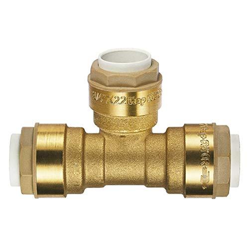 ITAP-FIT -IT630C000028- Messing-Steckverbinder T-Stück für Cu-Rohr Ø 28 mm - DVGW