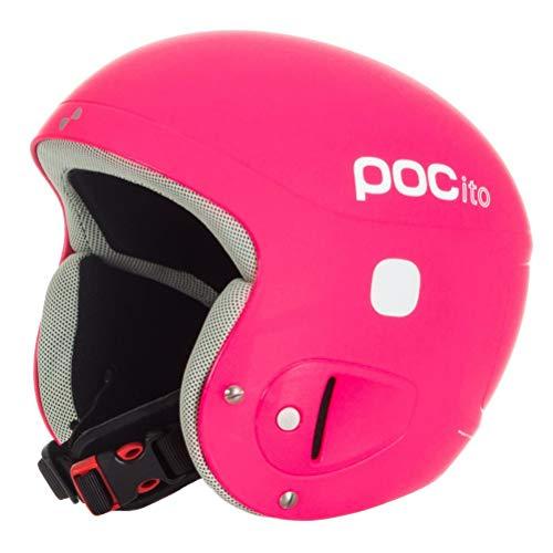 POC POCito Skull - Casco de esquí unisex, Rosa fluorescente, XS-S (51-54 cm)
