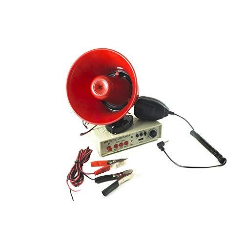 TrAdE Shop Traesio- MEGAFONO Altoparlante Microfono Auto 12V Amplificatore REGISTRATORE CA 150U