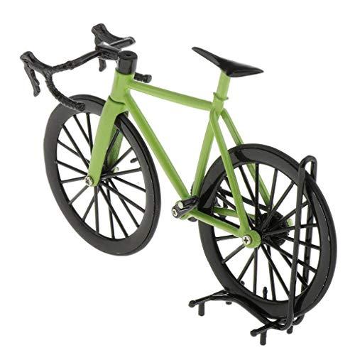 CUTICATE Mini Fahrradmodell Fahrrad Rennrad Mountainbike Modell Dekoration - Grün