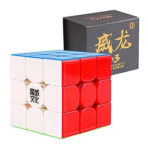 CuberSpeed MoYu WeiLong GTS3 M 3x3 stickerless Speed Cube Magnetic MoYu WeiLong GTS V3 M Color 3x3x3 Speed Cube Puzzle