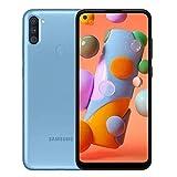 Samsung Galaxy A11 6.4' A115M/DS 32GB 2GB RAM (GSM Only, No CDMA) International Version - No Warranty (Blue)