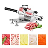 Best Meat Slicers - uyoyous Manual Meat Slicer Frozen Meat Cutter Vegetable Review