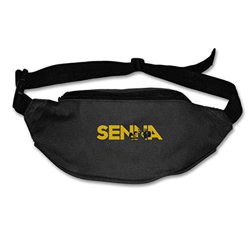 Sac de Taille Ayrton Senna Unisexe Hip Pack Ceinture Réglable Pochette de Course Randonnée Fanny Packs Portefeuille