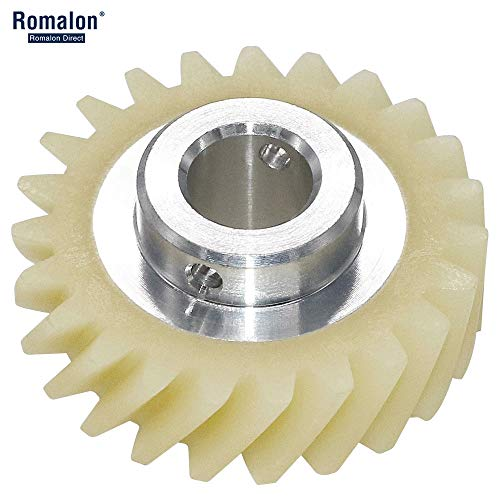 Gear W10112253 Mixer Worm Gear Replacement Part-Exact Fit For Whirlpool&Kitchen Mixer Aid-Replaces 4161531 4162897 4169830 WPW10112253VP By Romalon