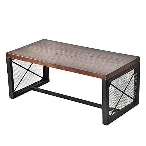 MROSW smeedijzeren salontafel massief hout salontafel lange salontafel thema restaurant