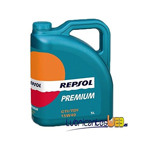 Repsol Premium GTI-TDI 15w40 5Ltrs