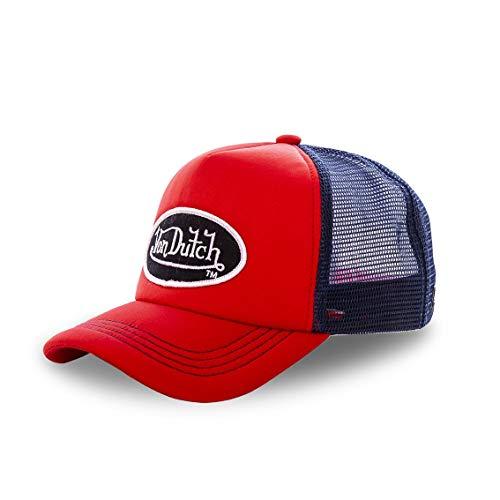 Von Dutch Gorra de béisbol Trucker de Espuma para Hombre (Rojo)