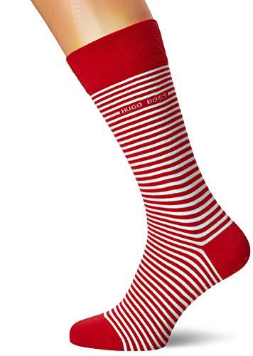 BOSS Marc RS Stripe CC Calcetines, Rojo (Medium Red 612), 39/42 (Talla del fabricante: 39-42) para Hombre