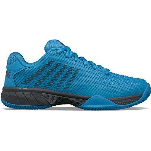 K-Swiss HYPERCOURTEXPRES2HB, Zapatos de Tenis Hombre, Azul, 46 EU