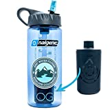Epic Nalgene OG Water Bottle with Filter. USA Made Bottle and Filter, Dishwasher Safe Filtered Water Bottle Perfect For Travel. BPA Free. Removes 99.99% Tap Water Impurities