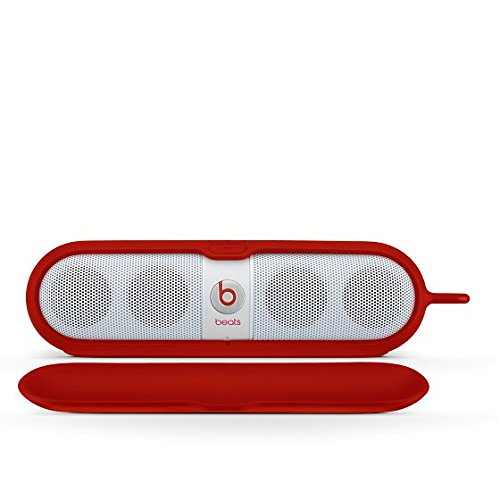 Beats by Dr. Dre Pill Sleeve Silicone Speaker Case Cover - Red