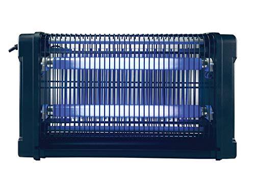 Beper P206ZAN020 - Mosquitera eléctrica 20 W negra, exterior e interior, luz...
