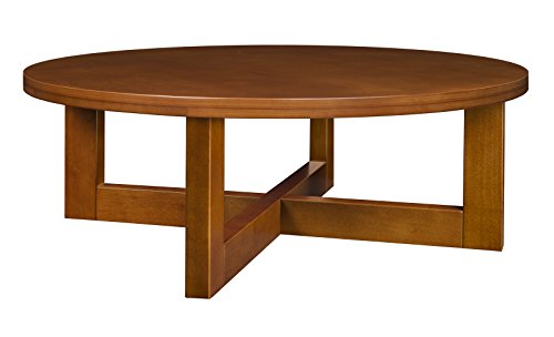 Regency Chloe 37-inch Round Coffee Table- Cherry