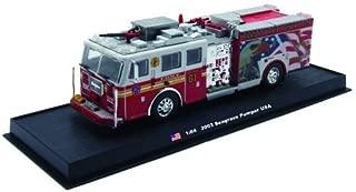 Seagrave Pumper Fire Truck Diecast 1:64 Model Amercom Collection