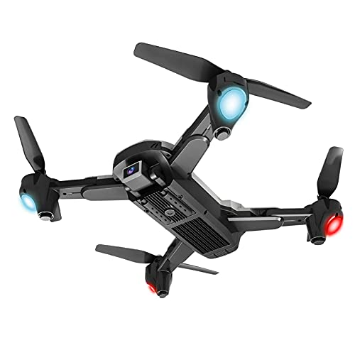 JJDSN UAV HD Fotografia Aerea Telecomando Aereo Giocattolo 4K Dual Lens Pixel Quadcopter, Obiettivo Singolo, Due Batterie