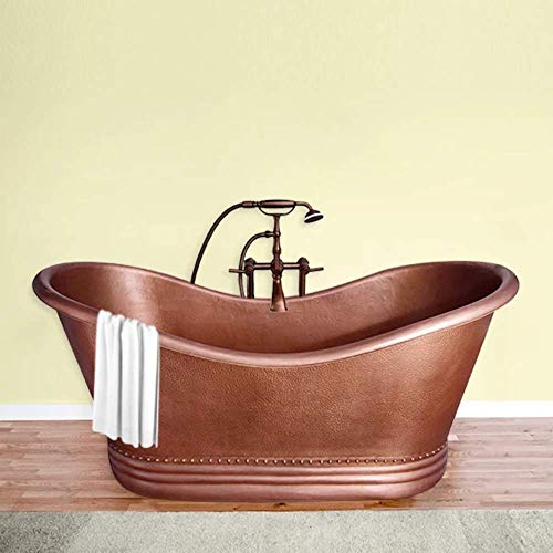 Vista Copper Euclid Roll-Up Bathtub