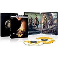 Wonder Woman Movie Steelbook Edition 4K Ultra HD Blu-ray