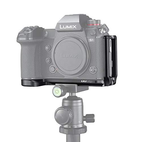 UURig L型ブラケット Panasonic Lumix DC-S1/S1R用 クイックリリースプレート
