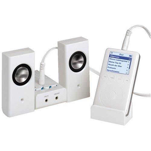Hama - Active Loudspeaker Kit AS-62, 24 W, 2.0, 100-20000 Hz, AAA, 6 V, 160 x 28 x 100 mm