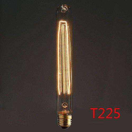 Preisvergleich Produktbild Neverland E27 40W 50V-220V T225 Edison Lampe Filament Glühlampe Retro Licht Vintage Glühbirne Antik Beleuchtung Warmweiß