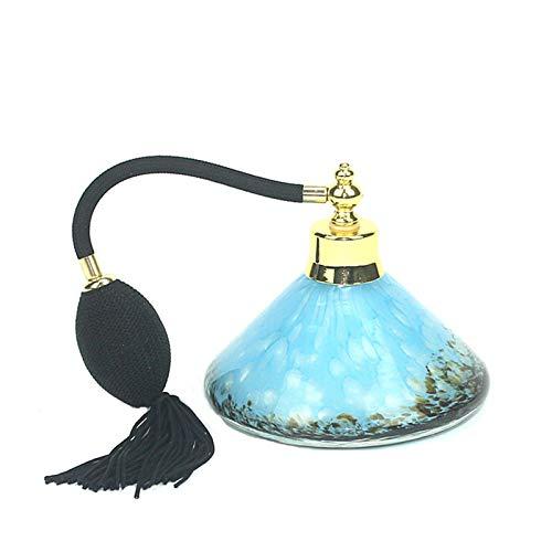 CHICAI 150ml Rechargeable Verre Vintage Bouteille de Parfum Bouteille d'atomiseur de pulvérisation